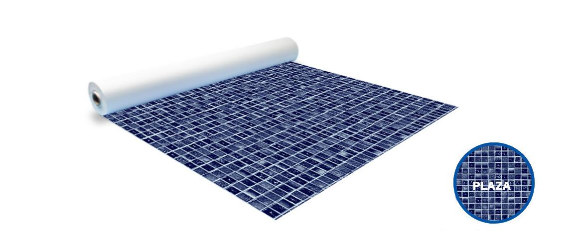 rouleau pvc imprimé mosaique pf4000 plaza
