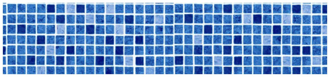coloris cyrus bleu liner armé 150/100 ème imprimé mosaïque pf4000