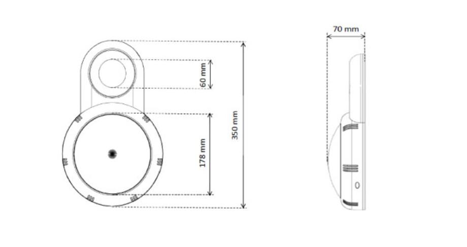 Projecteur LED pour piscines hors-sol