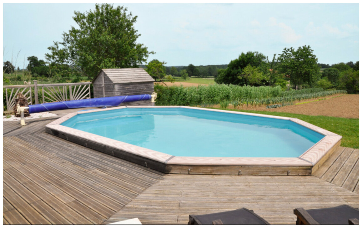 woodfirst original, une piscine prête à plonger !