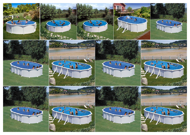 kit piscine gr hors sol structure acier tout inclus. Black Bedroom Furniture Sets. Home Design Ideas