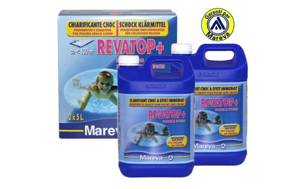 Rattrapage eau verte piscine revatop clarifiant choc for Clarifiant piscine