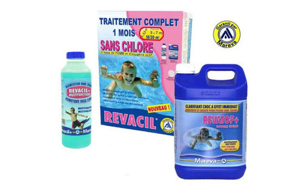 kit traitement sans chlore revacil