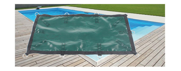 Nara filet couverture d 39 hivernage filtrante avec pitons p piscine center net for Bache piscine prix