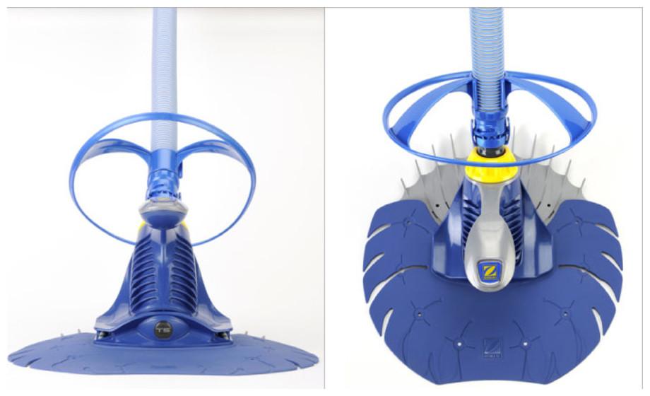 Robot hydraulique T5 Duo Zodiac - vues