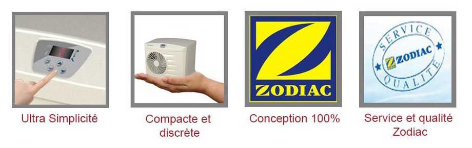 avantages de la pompe à chaleur Power by Zodiac