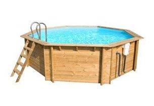 piscine bois weva octogonale