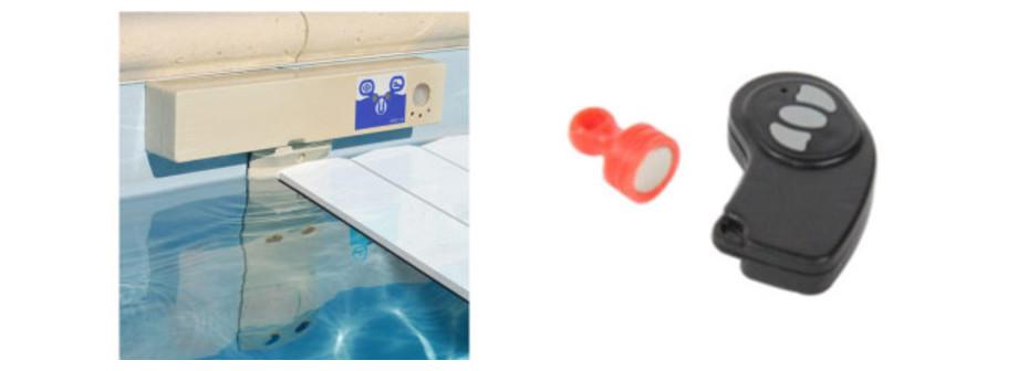 Détecteur d'immersion piscine Discrète