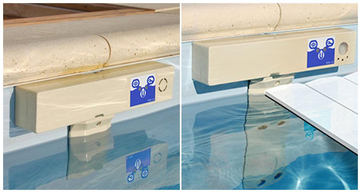 alarme de piscine discrète acis
