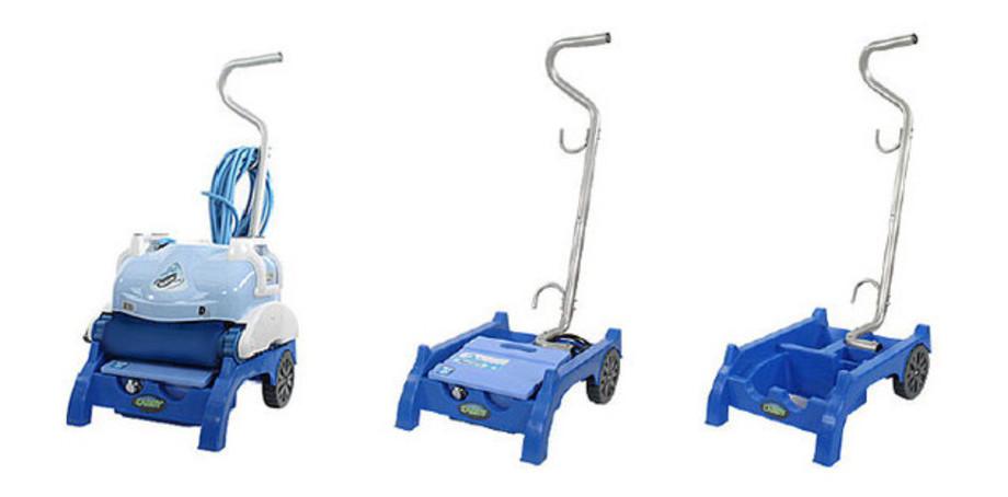 Robot piscine Aquabot D2 O'Clair - chariot et coffret