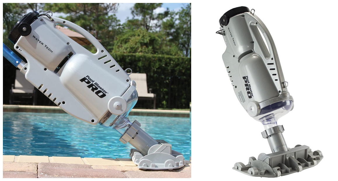 aspirateur de piscine et spa poolblaster 900 pro en situation