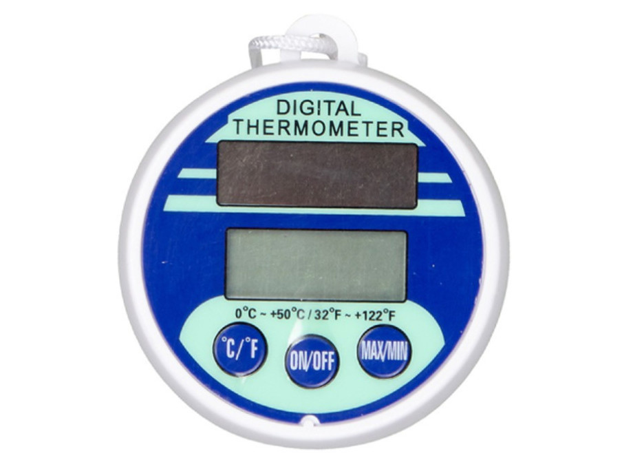 Thermomètre piscine digital solaire