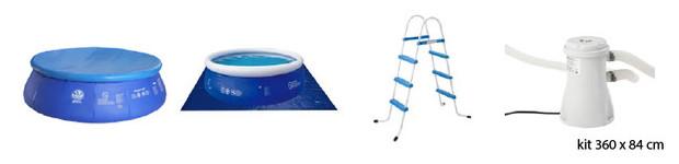 piscine hors sol jilong accessoires 360x84