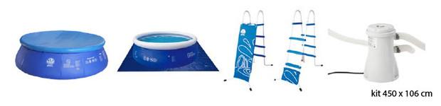 piscine hors sol jilong accessoires 450x106