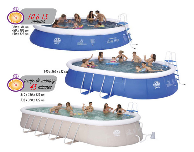 Piscine hors sol a boudin d 39 air piscine center net for Piscine autoportante