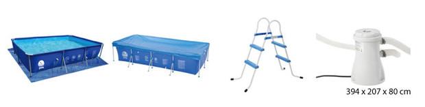 jilong piscine tubulaire - accessoires 1