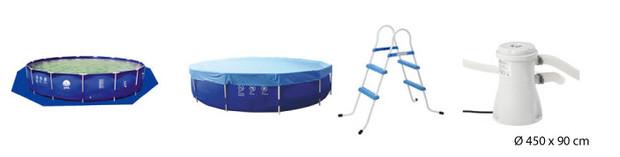 jilong piscine tubulaire - accessoires 2