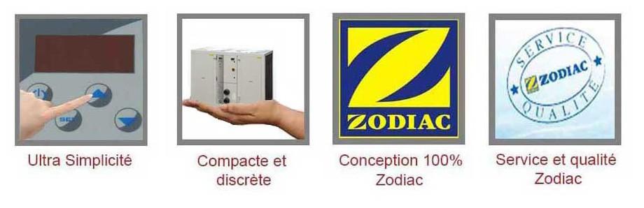 avantages de la pompe à chaleur Optipac 30 D by Zodiac