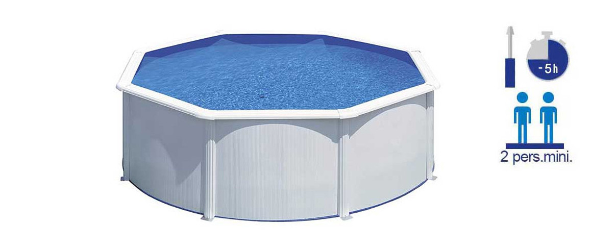 caractéristiques de la piscine hors sol bora bora gré