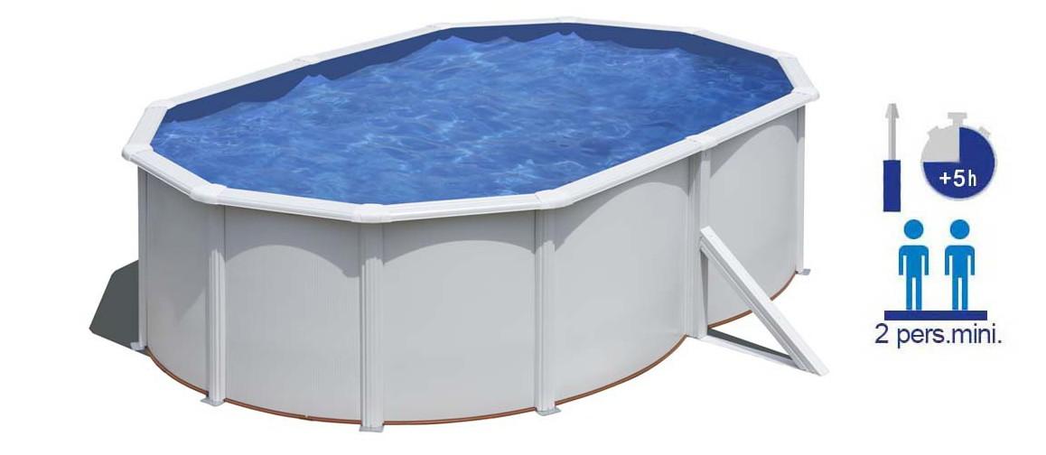 caractéristiques de la piscine hors sol fidji gré en situation