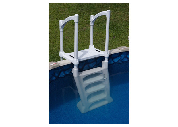 H2o escalier pour piscine hors sol piscine center net for Piscine center