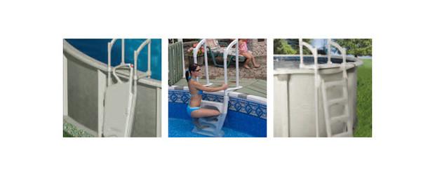 Escalier H2O pour piscines - img
