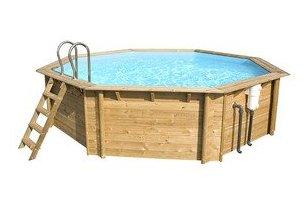 piscine bois octogonale woodfrist