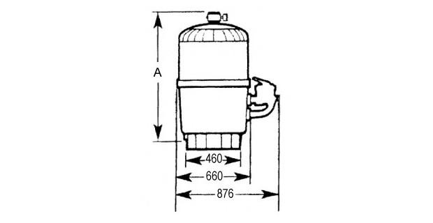 filtre hayward progrid dimensions