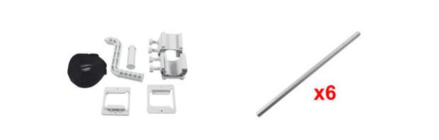 Enrouleur télescopique pour piscines hors-sol et bois - kit