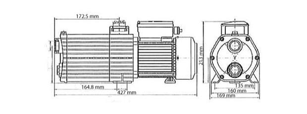 Surpresseur piscine Norystar pour robot pulseur Polaris 280