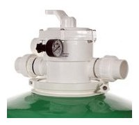 filtre a sable lamiclair vanne vue profil