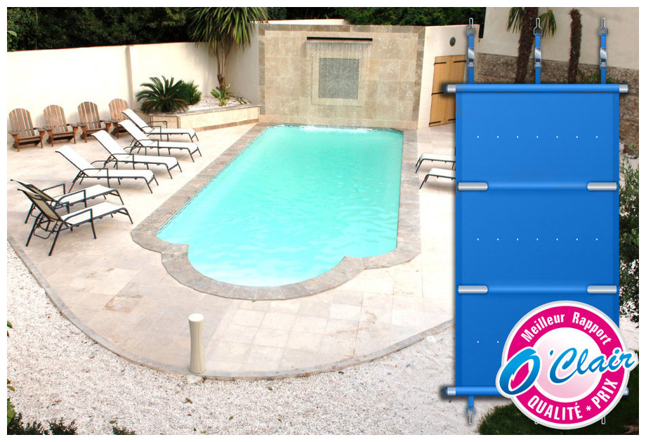 Pool barre plus couverture a barres pour piscine polyester for Provence piscine polyester