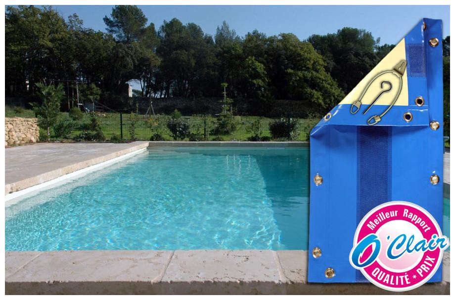 Bâche opaque Nara Safe pour piscine coque Génération