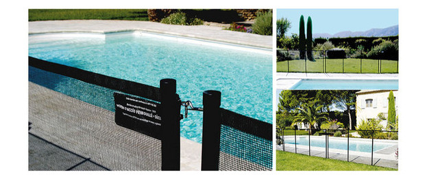 barri re piscine modulaire piscine center net. Black Bedroom Furniture Sets. Home Design Ideas