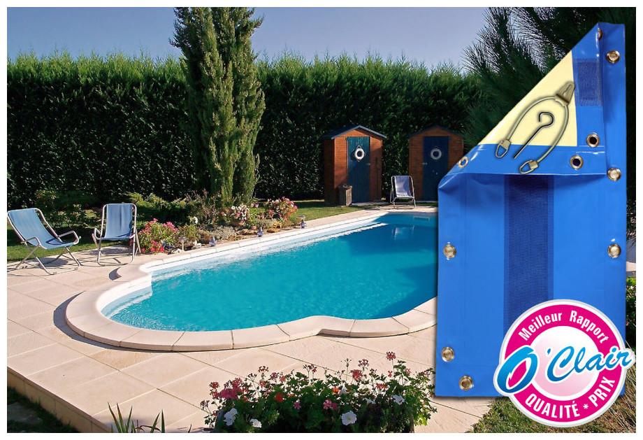 Bâche opaque Nara Safe pour piscine coque PID