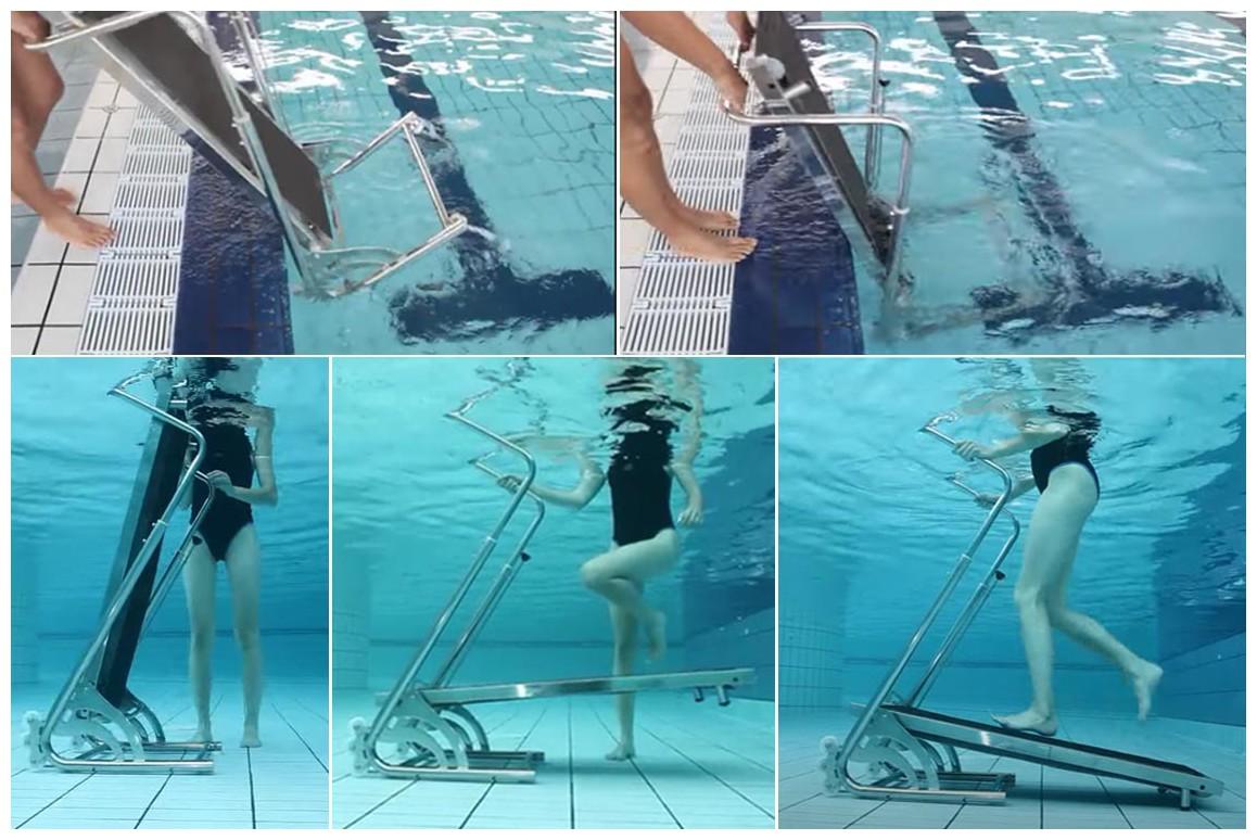 tapis de course aquatique aquajogg waterflex
