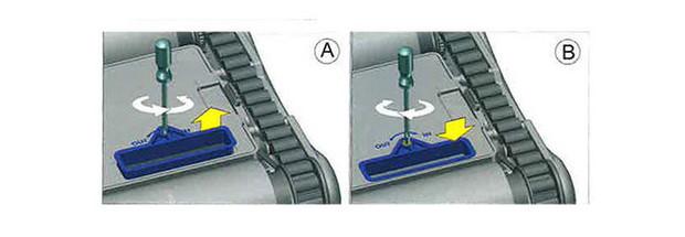 Robot D2 Top access - bouches aspiration réglables