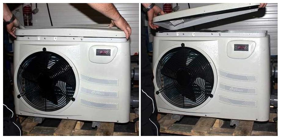 Caractéristiques techniques pompe à chaleur pour piscine Pacfirst Plus