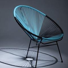 Lot de 2 fauteuils en résine tendues - Bi-color | Jardin-Center.fr
