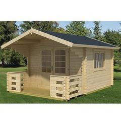 Abri en bois de style - Bois de 44 mm | Jardin-Center.fr