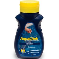 Aquachek Biguanide 3-en-1 trousse d'analyse 25 bandelettes