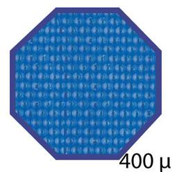 Bâche été 400 microns pour piscine bois original hexa 400x400