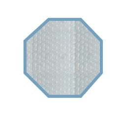 Bache été 500 microns pour piscine bois original 434 x 434