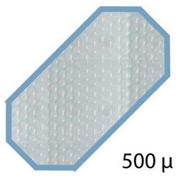Bache été 500 microns pour piscine bois original 436 x 336