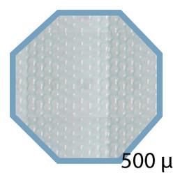 Bâche été 500 microns pour piscine bois original hexa 400x400