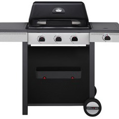 Barbecue au gaz Rio - 3 foyers + 1 réchaud