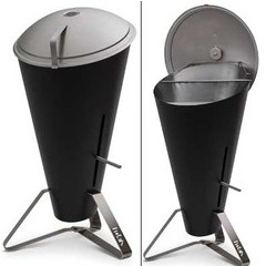 Barbecue à charbon Cone 2 en 1