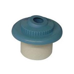 Bouche de refoulement bleue pour piscine béton