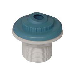 Bouche de refoulement bleue pour piscine liner