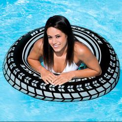 Bouée gonflable pneu Intex